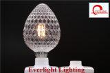 Ampoule neuve de filament du modèle DEL de forme de cône de pin