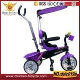 Qualität mit Griff-Stab-Kind-Dreirad/Baby-Spaziergänger