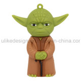 Movimentação do flash do USB do PVC de Cuty Yoda (UL-PVC021)