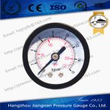 """40mmの1.5 """"軸方向概要圧力正確に測空気概要の圧力計"""