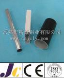 Pipes en aluminium d'extrusion des bons prix avec l'usinage, pipe en aluminium anodisée (JC-P-50190)
