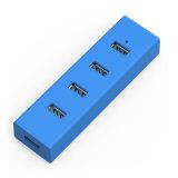 4 эпицентра деятельности USB эпицентра деятельности USB 2.0 портов Splitter внешнего портативный для PC таблетки компьтер-книжки
