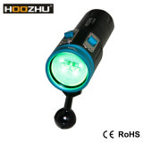 Cinco Color ligero Max 2600 lumnes LED Fotografía subacuática linterna linterna de la zambullida