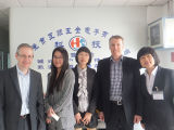 Het Messing die van de levering de Open Terminal van het Handvat van de Fabriek van China telegraferen (hs-bw-020)