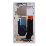 Мобильный телефон LCD для цифрователя +Frame касания экрана дисплея Сони Xperia z L36h C6603 C6602 белого LCD