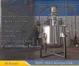 réservoir de réaction de l'acier inoxydable 200~1000liter