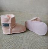 Zapatos de bebé recién nacidos de la zalea de Gneuine por 0-24 meses