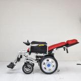 Silla de ducha del sillón de ruedas eléctrico de la cómoda