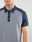 Camicia di polo del manicotto di Raglan del Knit