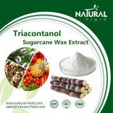 Auszug des Zuckerrohr-Wachs-Auszug-90% Policosanol, Policosanol Puder Triacontanol Puder