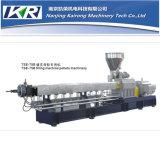 Plastikrohr-Extruder-Gerät/doppelter Verbundextruder des Schrauben-Strangpresßling-Machine/PVC für das Granulieren der Tabletten-Maschine