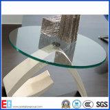 6mm 10mm 12mm abgeschrägte Rand-Tischplatte-ausgeglichenes Glas/Hartglas mit Gebäude/Möbeln