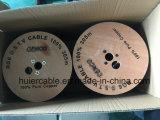 Tri-Защищаемый коаксиальный кабель RG6 (CM, CMX, CMR)
