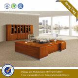 新しい設計事務所表の骨董品の贅沢な木の執行部の机(NS-NW121)