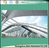El panel de pared de aluminio del color de madera de la alta calidad, techo de aluminio
