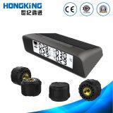 Solargummireifen-Druckanzeiger mit externem Gummireifen-Fühler für Auto