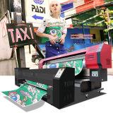 Stampante di tela della tessile con risoluzione di larghezza di stampa delle testine di stampa 1.8m/3.2m di Epson Dx7 1440dpi*1440dpi per stampa del tessuto direttamente