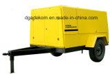 Construcción de alta presión  Compresor portable accionado por el motor diesel del tornillo (PUD 12-07)
