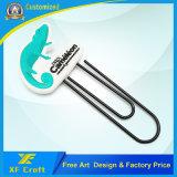 Segnalibro di gomma del PVC personalizzato professionista per il regalo di promozione