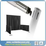 Qualitäts-Teleskop-Rohr und drapieren Installationssätze, Hintergrund-, denwand drapiert