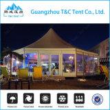 高品質秒針のイベントのためのガラス壁が付いている六角形の結婚式のテント