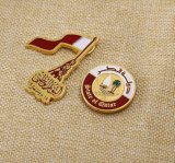 Distintivo su ordinazione del metallo del metallo della fabbrica di BSCI, Pin di Lepal, distintivo di nome