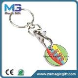 Preiswertes Förderung-Eisen gestempelte Laufkatze-Münze Keychain