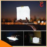 Novo Solar LED Camping Light IP65 à prova d'água de lanterna solar dobrável