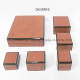 Cadre en bois enveloppé par cadre personnalisé estampé de luxe de papier des graines