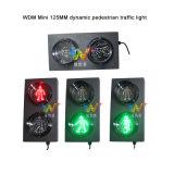 Kundenspezifisches 125mm mini rotes grünes Verkehrs-Fußgänger-Licht