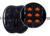 Shiatsuのリモート・コントロールの練る圧延のフィートのマッサージャー