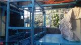 Nivel de proceso de instalación de la espuma de poliuretano