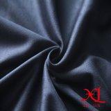 Tecido de camurça de poliéster preta para sofá / Hometextile