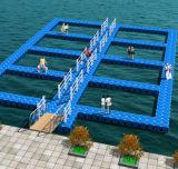 高品質の浮遊ドック、チリのための浮遊ポンツーンのドック