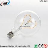 Ampola do filamento do diodo emissor de luz da gaiola de esquilo da iluminação 2200K 4W da decoração