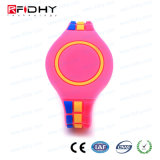 Wristband à moda da forma RFID com material de TPU