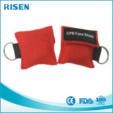Mascherina a gettare personalizzata Keychain di CPR della visiera di stampa di marchio