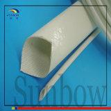 De Met een laag bedekte Glasvezel Sleeving van het Silicone van Sunbow 4.0kv Rubber