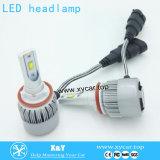 H1 H4 H7 H11 9004 9005台のヘッドライトの自動車部品IP 68 LEDの球根の照明ランプの中古車