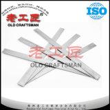Tiras ou placa Non-Magnetic em branco do carboneto de tungstênio K10