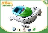 Jouets gonflables de bateau de butoir Shaped animal pour la piscine