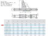 Ca2060h-7aue 42 링크 6X8 농업 수확기 롤러 사슬