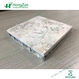 Реальный каменный текстурный алюминиевый сот строя декоративную конструкцию