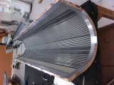 Panneaux composés en aluminium de couleur en bois