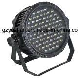 La luz 84pcsx3w de la etapa DMX512 impermeabiliza IGUALDAD del LED