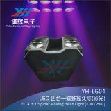 Indicatore luminoso capo mobile della fase di Corey del ragno di colore completo del LED