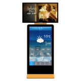 WiFi Android LCD рекламируя экран дисплея, крытый игрока Signage цифров стойки пола