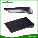 4 l'indicatore luminoso alimentato solare senza fili IP65 della parete dell'indicatore luminoso del sensore di movimento di lumen 48 LED di modi 850 impermeabilizza l'indicatore luminoso esterno