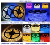 Indicatore luminoso di striscia impermeabile eccellente di 220/110V 5050 all'ingrosso LED