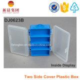Duas caixas laterais de plástico caixa de armazenamento